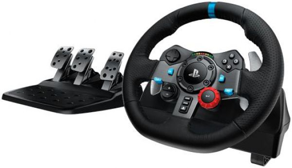Stoc limitat!  Volan cu pedale Logitech G29 Driving Force Racing (PC, PS3, PS4)